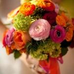 Spring / Fall:  orange, pink , deep pink, apple green, deep orange