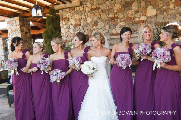 Paradise Valley Country Club, bride's maids