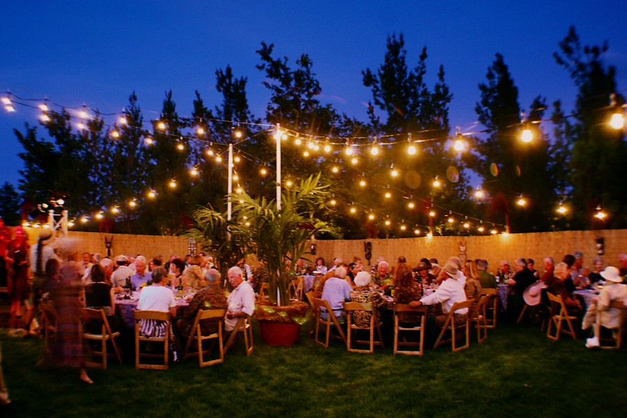 Private Party, Sedona AZ., String Lighting