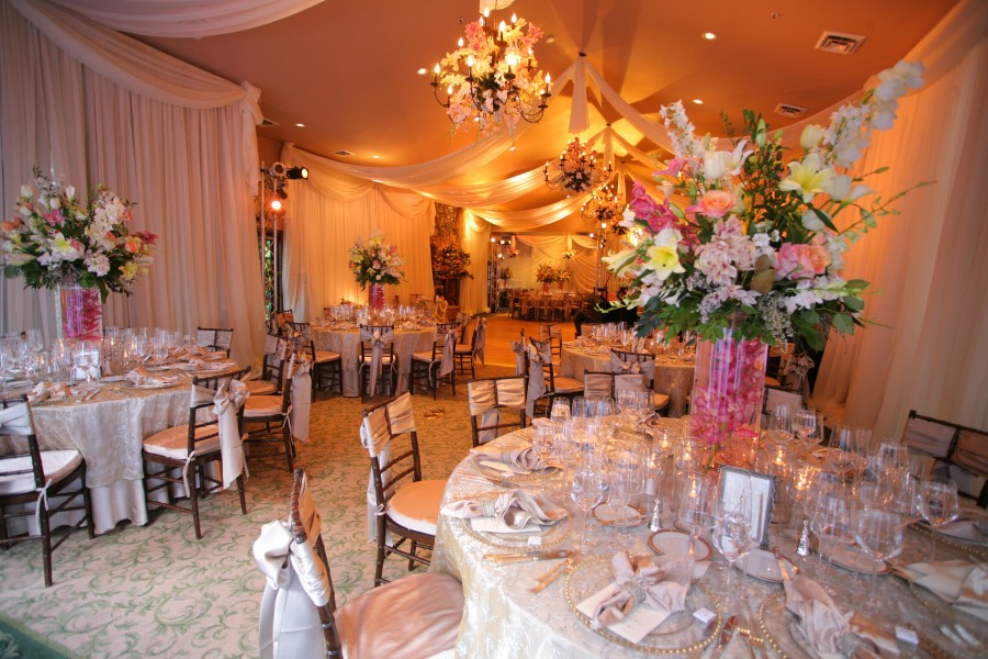 L'Auberge de Sedona, Ballroom, Draping, Lighting, Floral Decor, Image by One Fine Day Photography