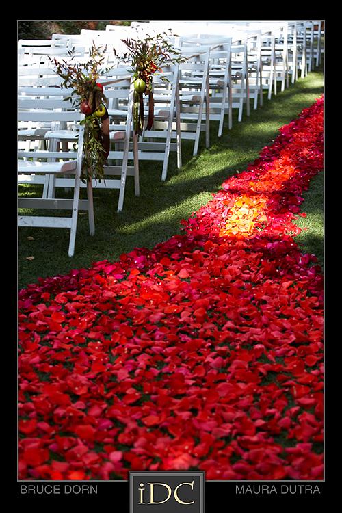 Rose Petal Carpets Sedona Wedding Planners Florists And