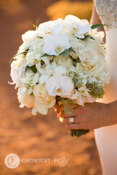 Summer bouquet with mixed whites, Image by Cameron + Kelly Studios
