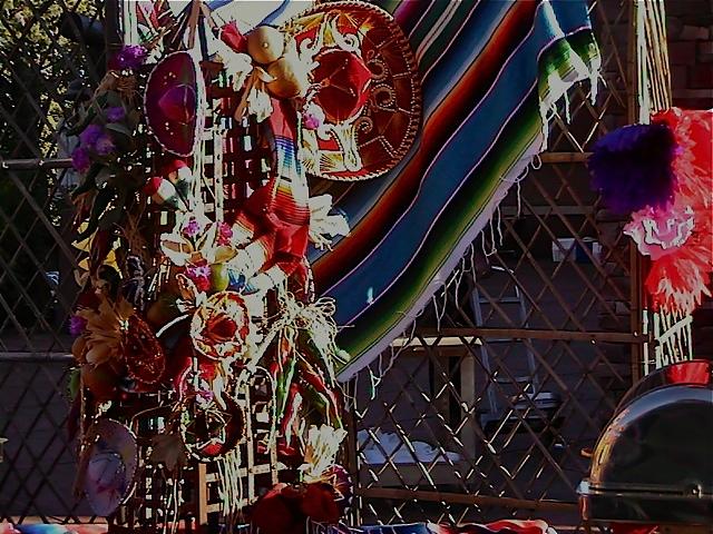 Mexican Fiesta Theme, Buffet Props, Enchantment Resort, Sedona AZ.