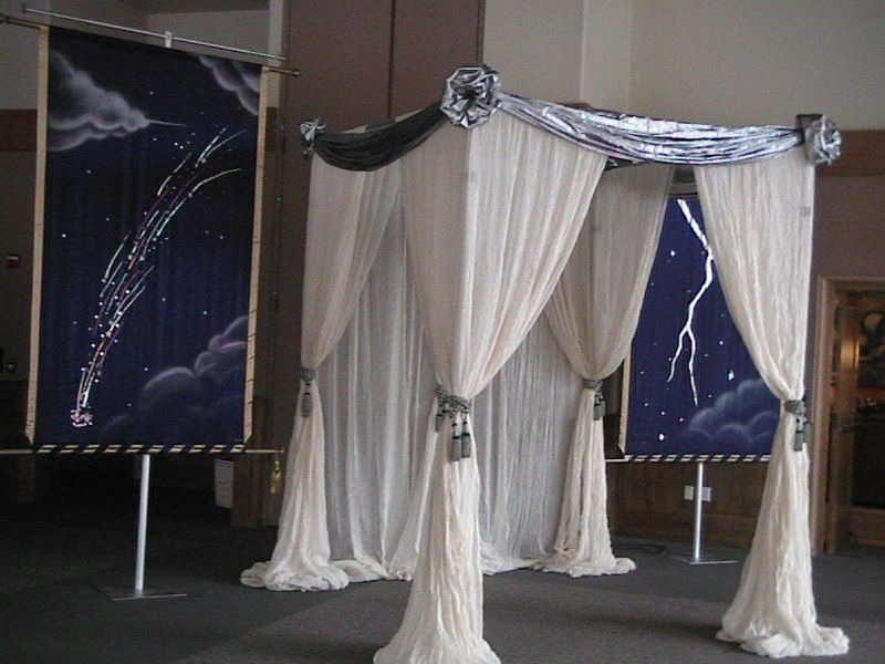 Kismet Tents, Celestial Theme, Enchantment Resort