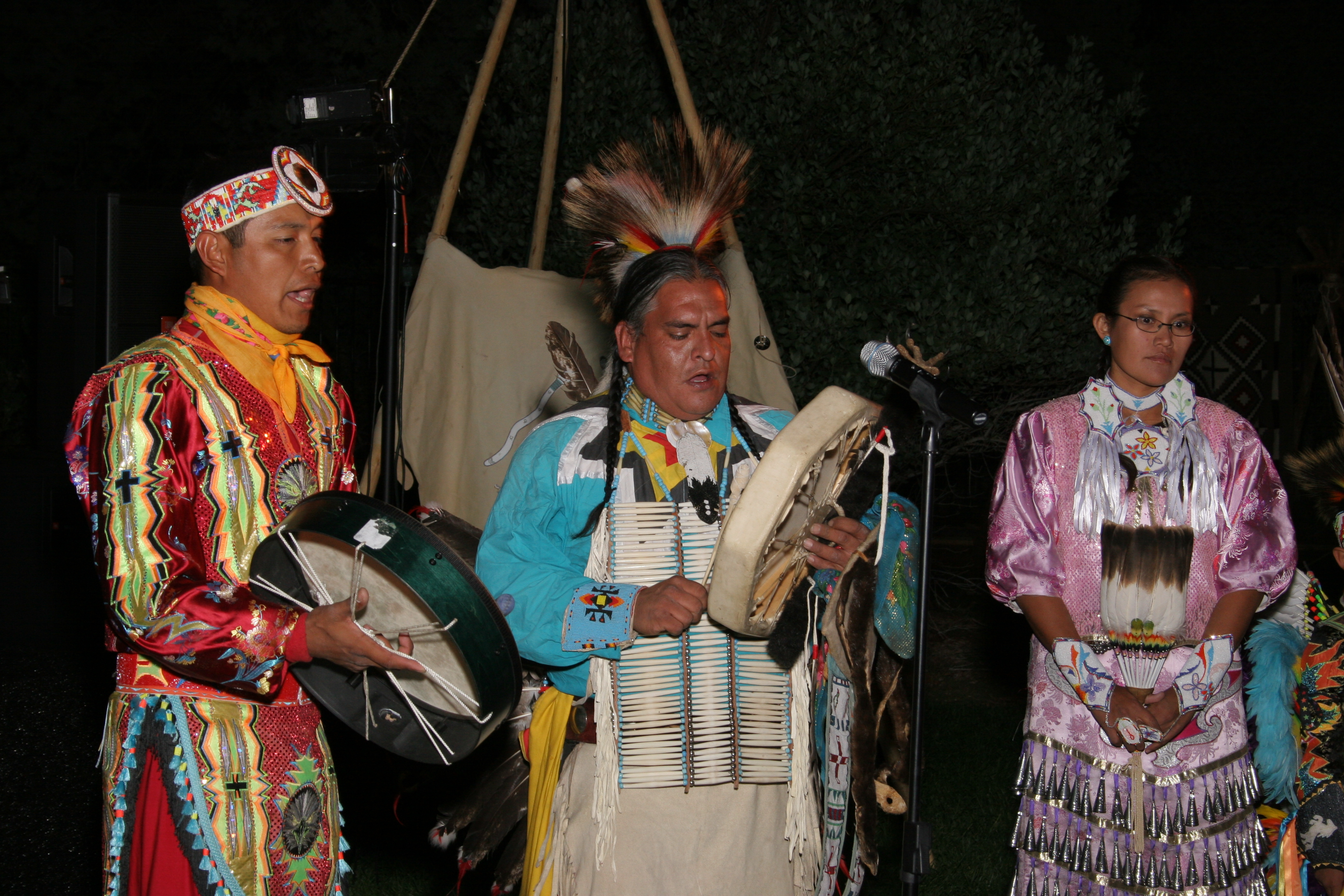 Native American Village, Entertainers, Image Provided By Show Stoppers