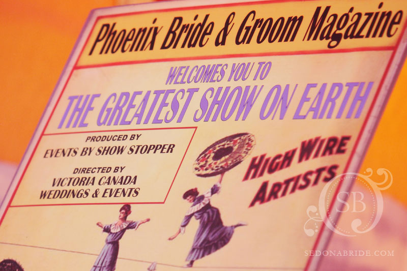 Poster for Phoenix Bride and Groom Magazine's 10th Anniversary Gala
