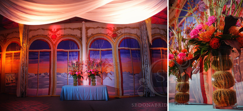 Phoenix Bride and Groom Gala, Backdrop