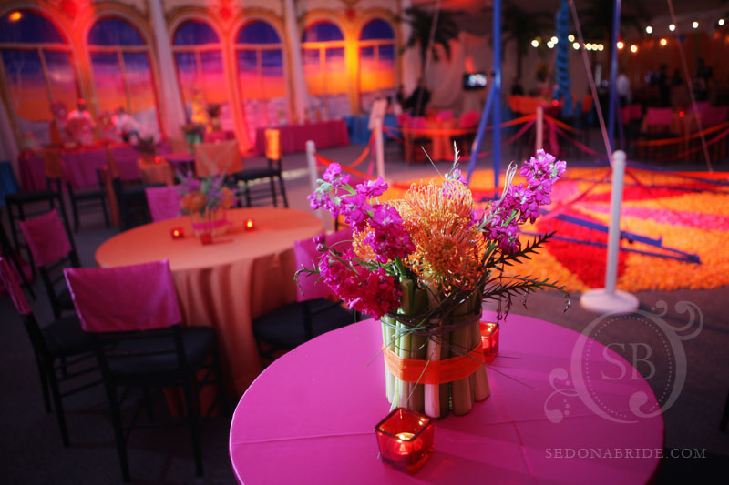 Ballroom decor sedona wedding planners florists and event decorators - Decoration theme cirque ...