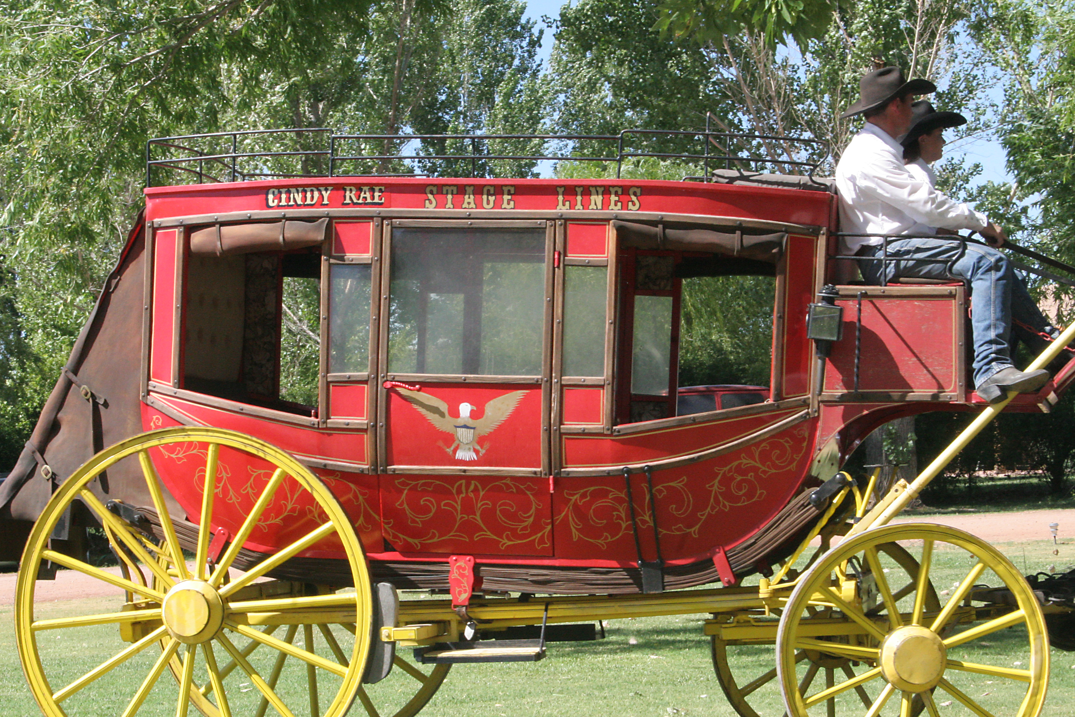 Stage Coach / Western Theme