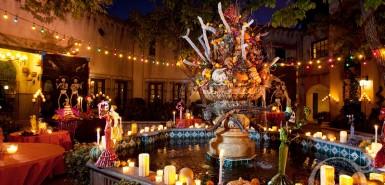 Dia de Los Muertos Celebration, Tlaquepaque, Sedona AZ. Image By SedonaBride.com