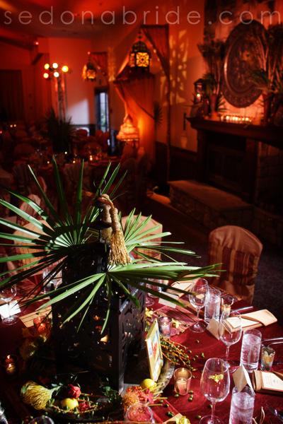 L'Auberge de Sedona Ballroom, Moroccan Themed Sedona Wedding