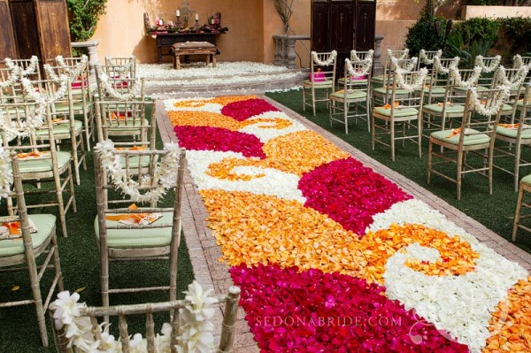 Rose Petal Carpet