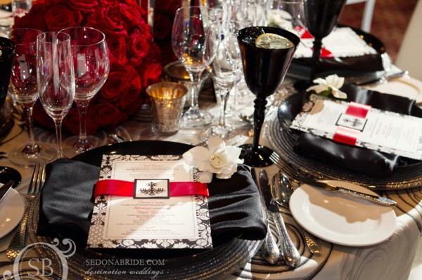 Table setting, Royal Palms