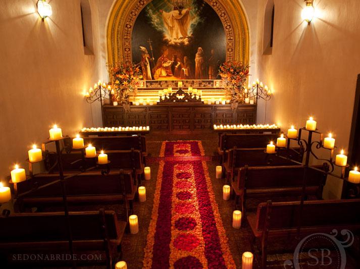 Tlaquepaque Chapel Interior, Image by SedonaBride.com
