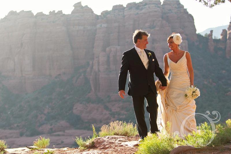 Elegant Seven Canyons Wedding