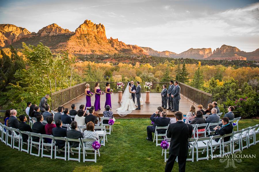 Stephanie And Tyler Marry At L Auberge De Sedona Sedona