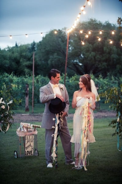 Croquet game at a Wedding In Sedona