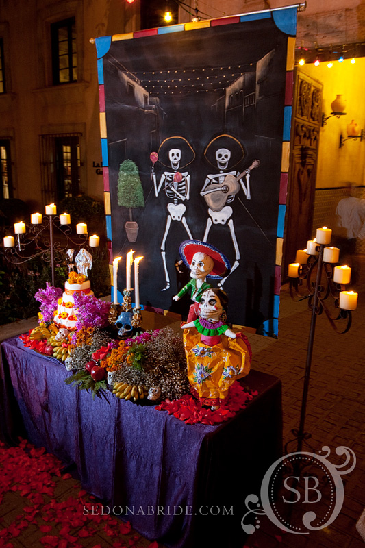 Dia De Los Muertos Sedona Wedding Planners Florists And